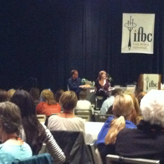 Karen Page and Andrew Dornenburg. Keynote speakers at IFBC 2014. #ifbc #foodblogger #foodista