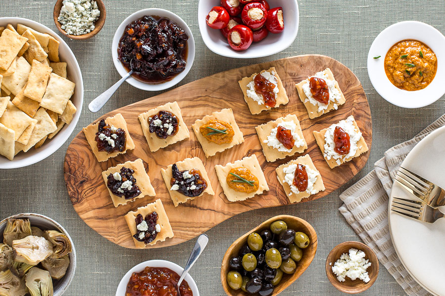 Pantry Party Food Photography Image for National Brand