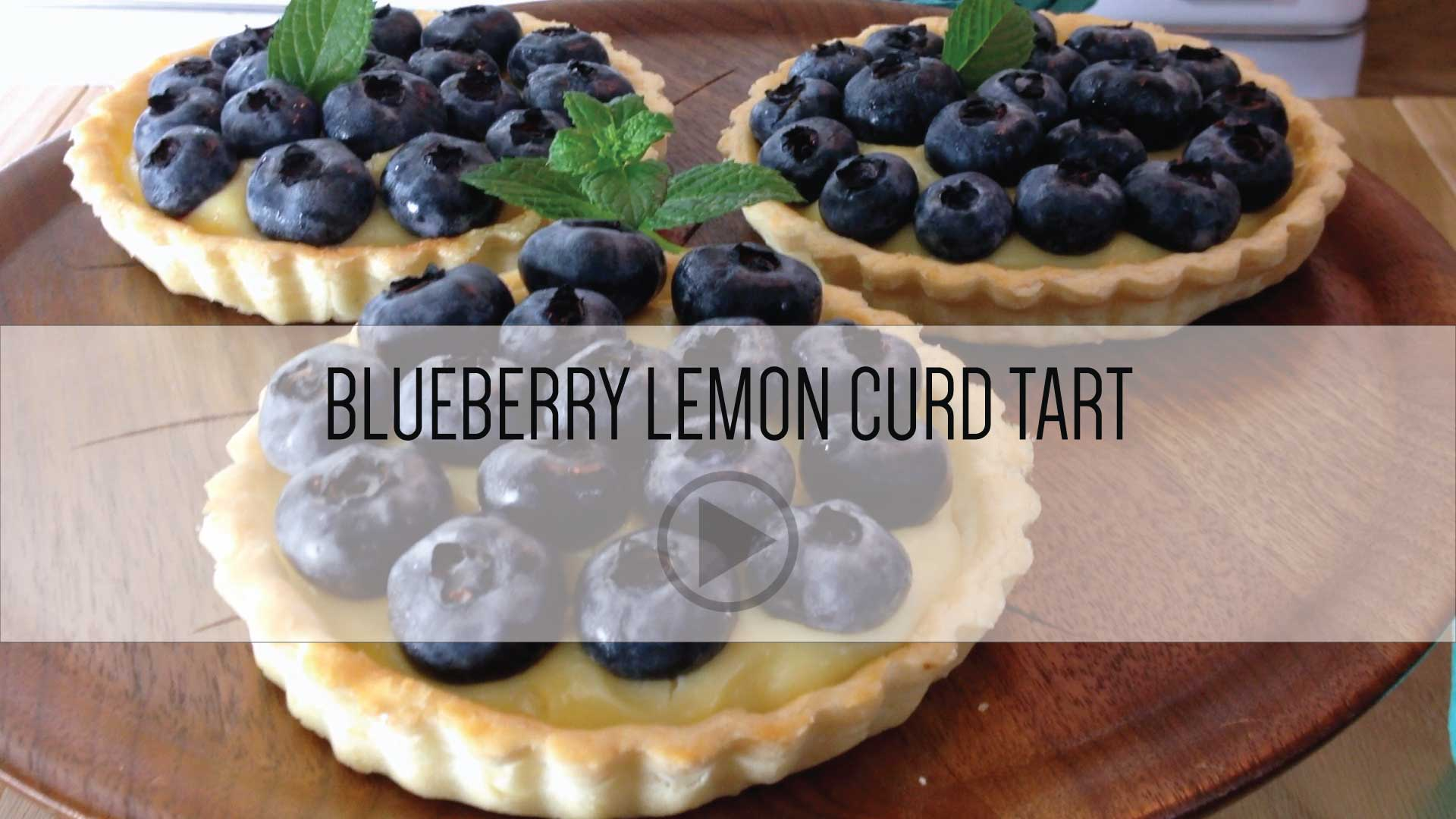 Blueberry Lemon Curd Video