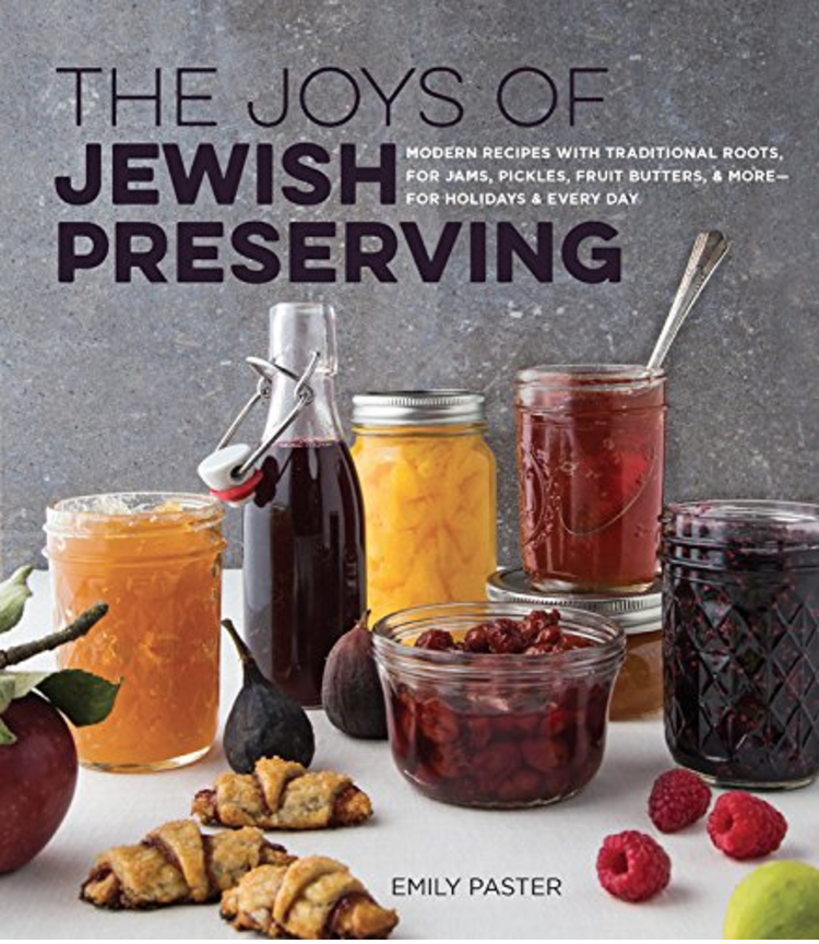 Cover shot of Joys of Jewish Preserving Cookbook